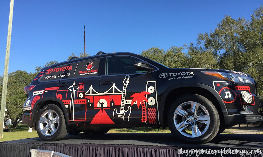 Rock n Roll New Orleans Marathon & 12 Marathon & the Toyota USA Concert Series in New Orleans La #‎LetsGoPlaces #‎rnrNOLA