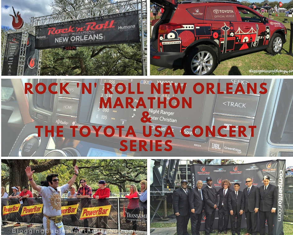 Rock 'n' Roll New Orleans Marathon & the Toyota USA Concert Series  #LetsGoPlaces #rnrNOLA