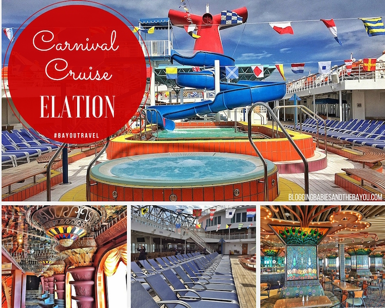 Up Close & Personal Aboard Carnival Cruise Elation - New Orleans & Jacksonville Ports #BayouTravel