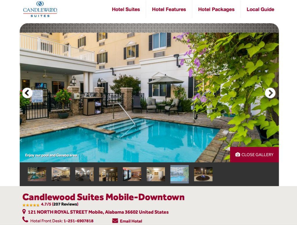 Candlewood Suites Downtown Mobile - Carnival Cruise Mobile Port Lodging Options