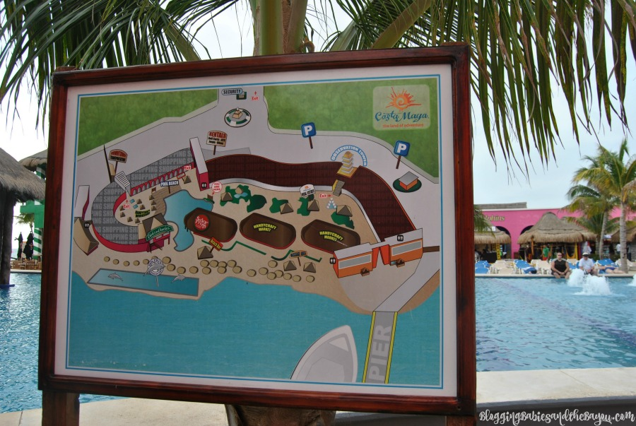 Costa Maya Mexico- How to Navigate at the Cruise Ship Port
