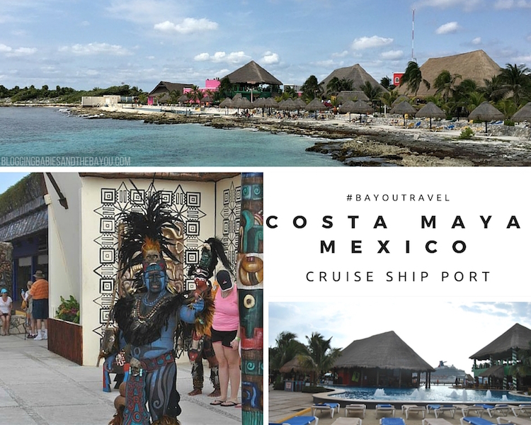 Cruise Ship Port: Costa Maya Mexico - Port Info and Excursion Ideas