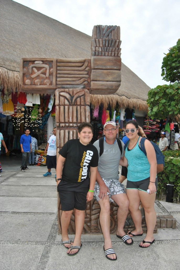 Family Cruise Vacation in Costa Maya Mexico -What do to at Port