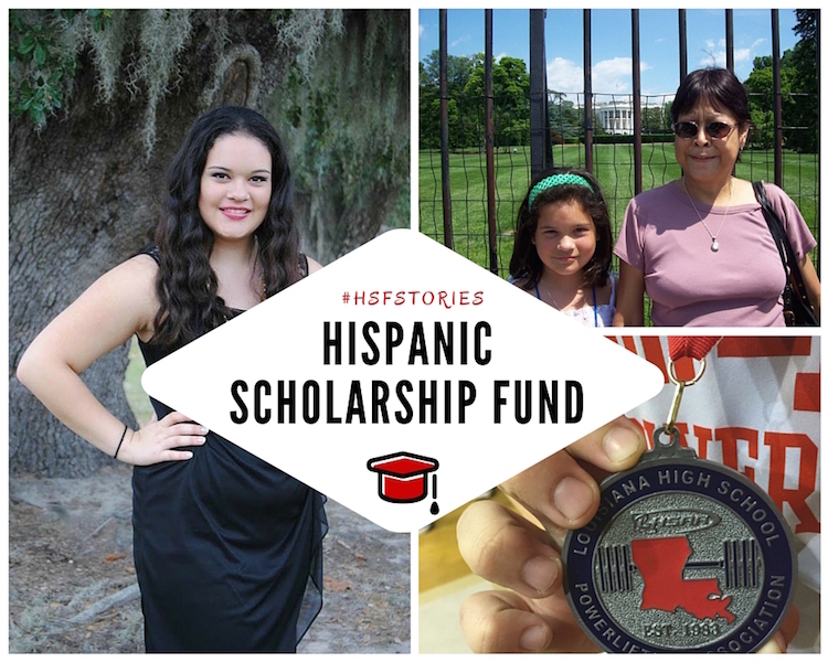 Hispanic Scholarship Fund - Scholarships for Latino Students #HSFstories #Cbias Ad