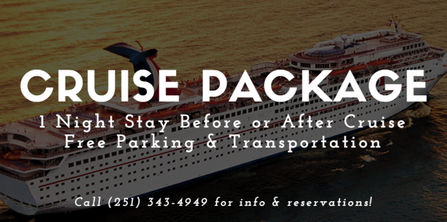 Quality Inn & Suites Mobile - Cruising Out of Mobile Alabama Soon? Mobile Area Hotels Near Cruise Terminal