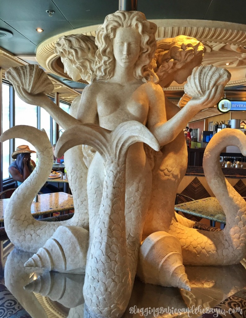 Buffet and more -Inside the Carnival Triumph, Port of Orleans New Cruise Ship