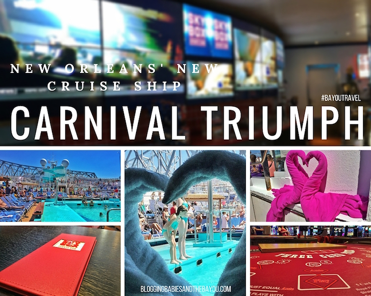 Carnival Cruise_ Inside Carnival Triumph, New Orleans' New Cruise Ship #BayouTravel