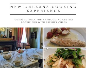 Going to #NOLA for a Cruise? Food Experience for Foodies: New Orleans Cooking Experience #NOCE