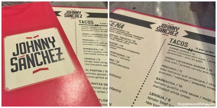 New Orleans Restaurants : Menu - Johnny Sanchez - Celebrity Chefs and Restaurants in NOLA #BayouTravel