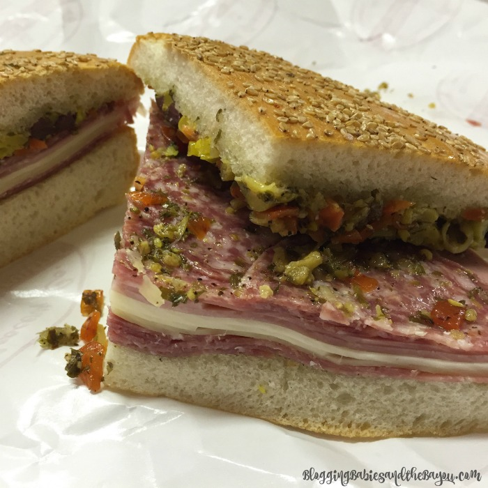 Central Grocery The BEST Muffuletta in NOLA - Where to Eat in NOLA New Orleans Top Restaurants #BayouTravel