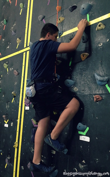 Challenge Your Teens & Tweens This Summer with Rock Climbing - Slidell Rocks Spotlight