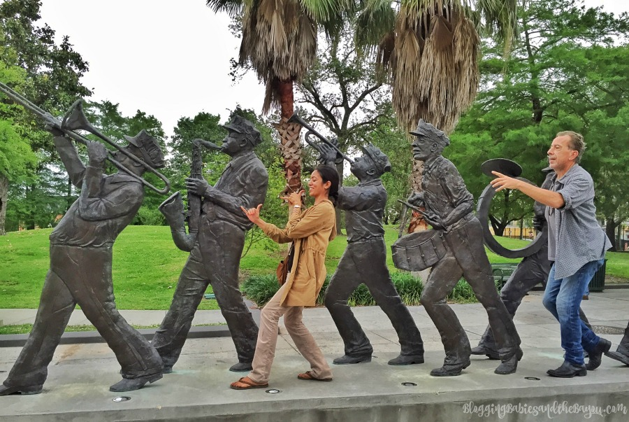 Louis Armstrong Park - Photo tour of New Orleans - French Quarter & Historic NOLA Sites Travel