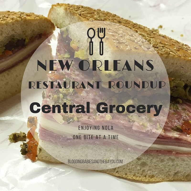 New Orleans Restaurant Roundup –Central Grocery, New Orleans Top Restaurants #BayouTravel