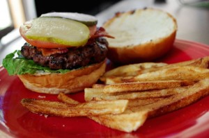 Mid-Week Dinner Solution: Healthy Dinner Hack, Burger and Fries