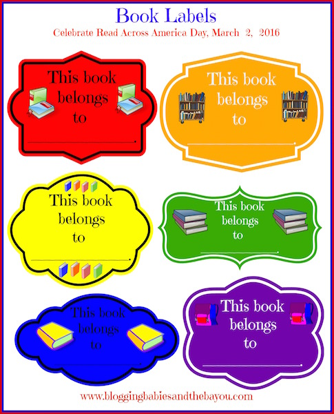 Back to School Prep - Classroom Book Labels