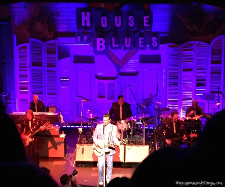 Chris Isaak at the House of Blues - New Orleans