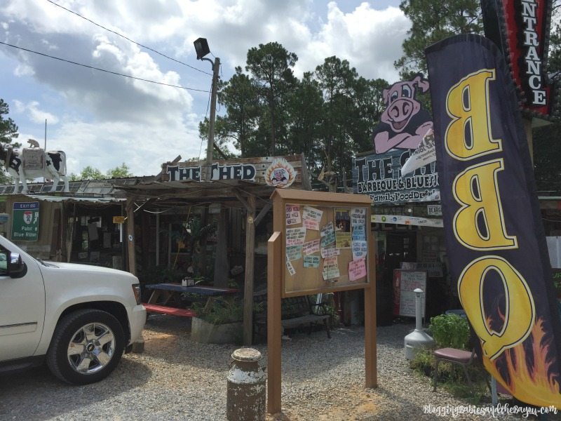 The Shed Barbeque and Blues Joint in Oceans Springs Mississippi - Beach Eats