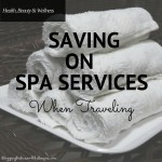 Saving on Spa Services When Traveling  #Groupon #ad