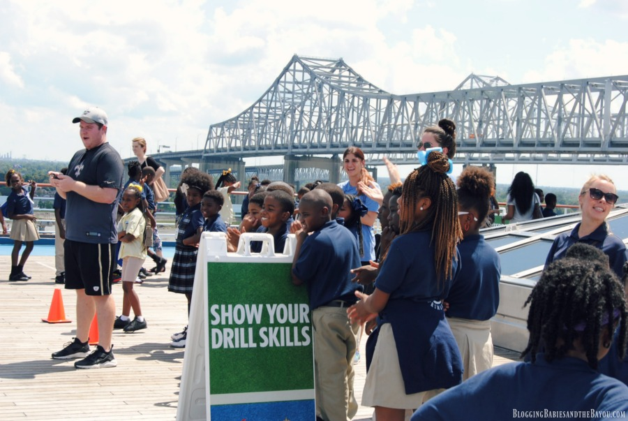 Carnival Cruise Lines & the Saints Team Up With Scholastic Books and Local New Orleans Children