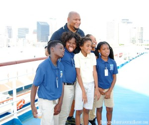 Carnival Cruise Lines & The New Orleans Saints Team up with Scholastic Books