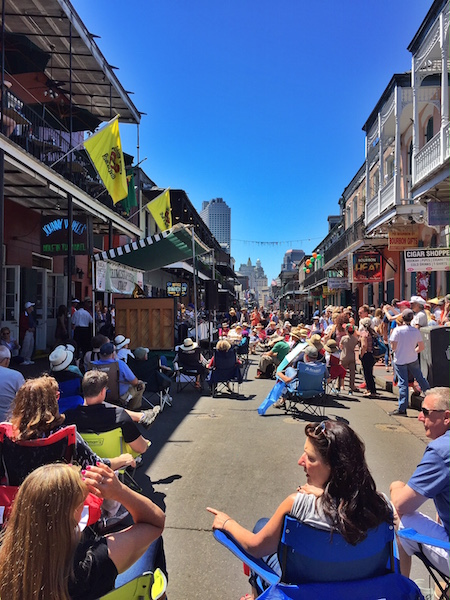 Music and more - LetsGoPlaces with Toyota and the New Orleans French Quarter Fest