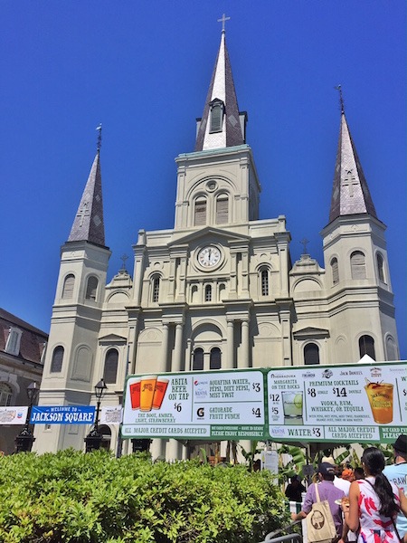 St Louis Cathedral - LetsGoPlaces with Toyota and the New Orleans French Quarter Fest